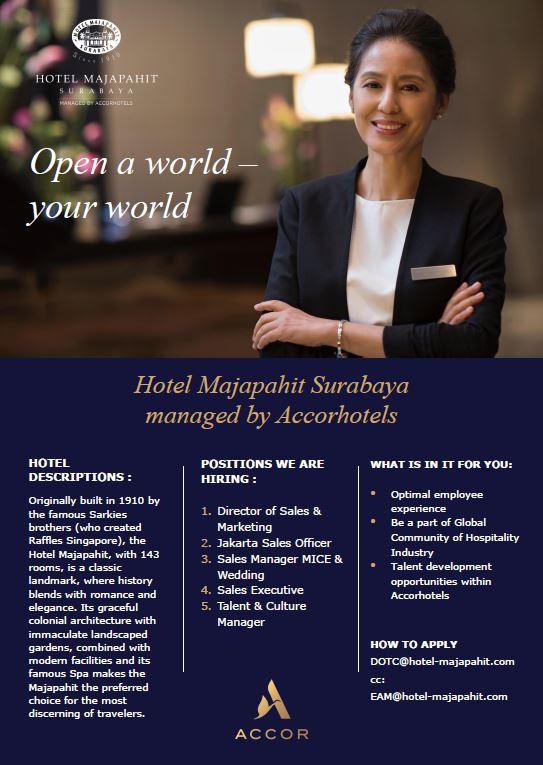 Surabaya Archives Hhrma Hotel Job Vacancy Indonesia